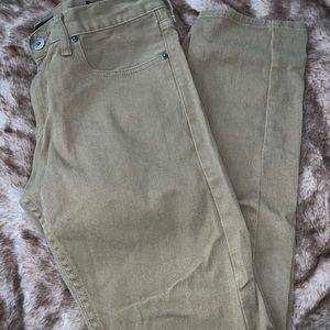 Pacsun Men's Khaki Denim Pants (Size 31x30)